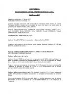 SÉANCE du CCAS DU 27 mars 2017