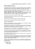 Conseil municipal du 13 avril 2021