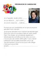 Maël LOPEZ Catégorie Egalité