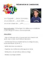 Simon GOUTORBE Catégorie Egalité