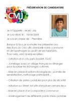 Mario JOLY Catégorie Fraternité